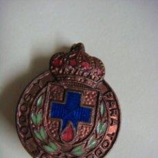 Militaria: INSIGNIA ANTIGUA DE ALFILER DE DONANTES DE SANGRE DORADA-(&). Lote 278421668