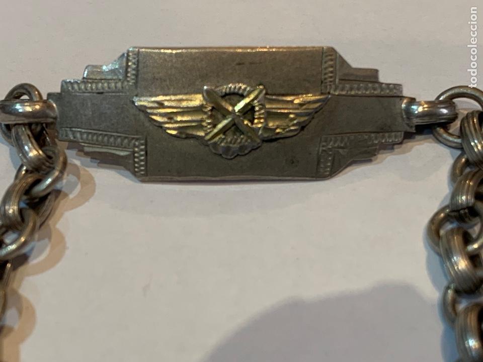 Militaria: Pulsera Emblema ejército del Aire para Niños - Foto 4 - 278556738