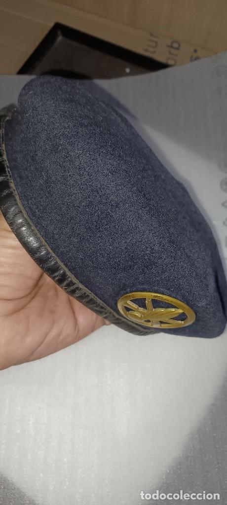 Militaria: Antigua boina militar especial comando pura lana posiblemente artillería - Foto 9 - 266521068