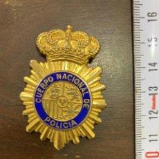 Militaria: PLACA O PIN ANTIGUO DEL CUERPO NACIONAL DE POLICIA. Lote 281928573