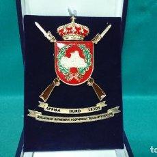 Militaria: EMBLEMA MILITAR, BRIGADA DE INFANTERÍA ACORAZADA GUADARRAMA XII. Lote 288741333