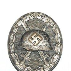 Militaria: TERCER REICH - EMBLEMA HERIDO EN PLATA - VERWUNDETENABZZEICHEN IN SILBER - WWII. Lote 289672263