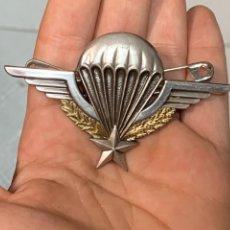 Militaria: INSIGNIA FRANCIA PARACAIDISTA MILITAR CORONEL LEGIONARIO LEGION COE GOE 4,5X7,5CMS. Lote 290929243