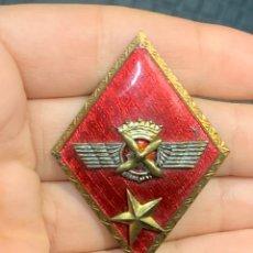 Militaria: INSIGNIA SOLAPA EJERCITO AIRE EPOCA FRANCO 5X3,5CMS. Lote 293620643