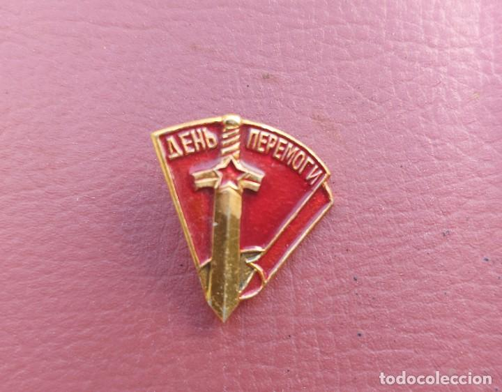 INSIGNIA SOVIÉTICA 9 DE MAYO-WW2 (Militar - Insignias Militares Internacionales y Pins)