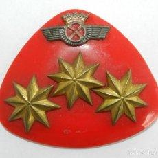 Militaria: GALLETA DE CORONEL DEL EJERCITO DEL AIRE, AVIACION, REVERSO CON IMPERDIBLE, MIDE 7 CMS.. Lote 294161593