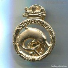 Militaria: ITALIA. REPÚBLICA ITALIANA. INSIGNIA DE SUBMARINISTA. 33 X 25 MM.. Lote 295431313