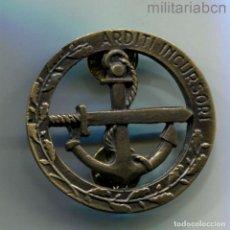 Militaria: ITALIA. INSIGNIA DE LOS ARDITI INCURSORI DE LA MARINA ITALIANA. VERSIÓN ITALIANA DE LOS SEAL. Lote 295432618