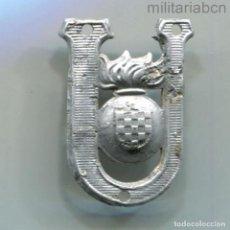 Militaria: CROACIA. INSIGNIA DE GORRA DE LOS USTCHA, USTASHA O USTASE. SEGUNDA GUERRA MUNDIAL.. Lote 295433673