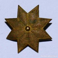 Militaria: UNA ESTRELLA DE 8 PUNTAS, EPOCA DE ALFONSO XIII, MIDEN 3,2 CMS.. Lote 296767213