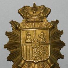 Militaria: ESCARAPELA ORIGINAL DEL ROS DE ARTILLERÍA - ÉPOCA DE ALFONSO XIII.. Lote 296770618