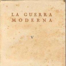 Militaria: LA GUERRA MODERNA. Lote 17515771