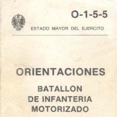 Militaria: BATALLON DE INFANTERIA MOTORIZADO. Lote 27396212