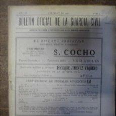 Militaria: BOLETÍN OFICIAL DE LA GUARDIA CIVIL. Lote 3787650