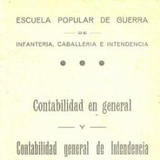 Militaria: GUERRA CIVIL LIBRO DE LA ESCUELA POPULAR DE GUERRA. Lote 10812257
