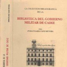 Militaria: COLECCION BIBLIOGRAFICA DEL GOBIERNO MILITAR DE CADIZ. Lote 25597880
