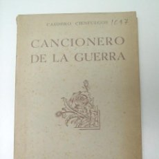 Militaria: CANCIONERO DE LA GUERRA. Lote 26566776