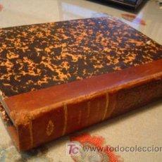 Militaria: 1846 LIBRO DE FORTIFICACION MANUSCRITO Y LITOGRAFIADO. Lote 109772792
