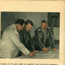 Militaria: VICTORIA PARA EUROPA EXTRACTO DEL DISCURSO DE ADOLFO HITLER AÑO 1941, SIN TAPAS. Lote 4692484