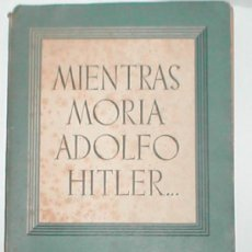 Militaria: ADOLFO HITLER 1952. Lote 16935999