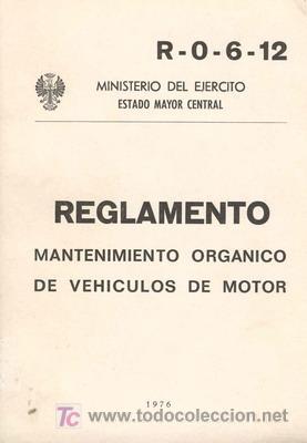 MANTENIMIENTO DE VEHÍCULOS DE MOTOR (Militar - Libros y Literatura Militar)