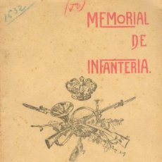 Militaria: 1920 MEMORIAL DE INFANTERIA. Lote 25876135