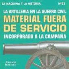 Militaria: MATERIAL FUERA DE SERVICIO. Lote 40469448