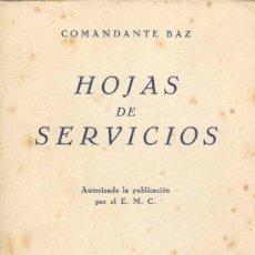 Militaria: HOJAS DE SERVICIO. Lote 20162658