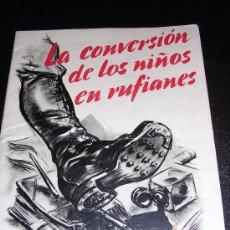 Militaria: LA CONVERSACION DE LOS NIÑOS EN RUFIANES NUEVA EDUCACION ILUSTRADO 1934. Lote 13047727