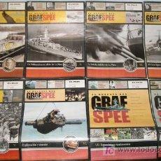 Militaria: GRAF SPEE COLECCION COMPLETA E INEDITA Y AGOTADA DE 8 FASCICULOS AL RESCATE DEL GRAF SPEE. Lote 6807507