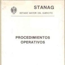 Militaria: PROCEDIMIENTOS OPERATIVOS. Lote 21091124