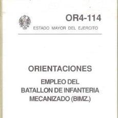 Militaria: BATALLON DE INFANTERIA MECANIZADO. Lote 26336908