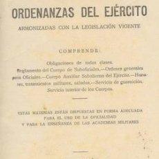 Militaria: ORDENANZAS DEL EJERCITO DE 1941. Lote 26758477