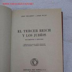 Militaria: EL TERCER REICH Y LOS JUDIOS . 1960. Lote 27427354