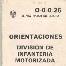 Militaria: DIVISION DE INFANTERIA MOTORIZADA. Lote 34430655