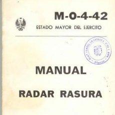 Militaria: RADAR RASURA. Lote 27604293