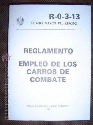 EMPLEO DE LOS CARROS DE COMBATE (Militar - Libros y Literatura Militar)
