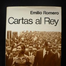 Militaria: CARTAS AL REY. EMILIO ROMERO. ESPEJO DE ESPAÑA. PLANETA 1973 388 PAG. Lote 14041073