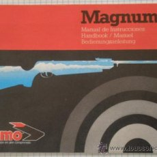 Militaria: MANUAL DE INSTRUCCIONES, MAGNUM. Lote 10945166