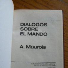Militaria: LIBRO DIALOGO SOBRE EL MANDO. Lote 27438749