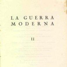 Militaria: 1956 LA GUERRA MODERNA UNIVERSIDAD DE ZARAGOZA. Lote 24976847