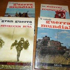 Militaria: 4 LIBROS SEGUNDA GUERRA MUNDIAL , ARGOS. Lote 26431358
