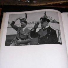 Militaria: HITLER - MATROSEN GOLDATEN RAMERADEN, FIN BILDBUCH VON DER REICHSMARINE , ILUSTRADO CON FOTOGRAFIAS . Lote 13599169