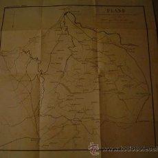 Militaria: PLANO DE LAS OPERACIONES DEL EJERCITO RUSO DEL ESTE (1877-78) AL S.E. DEL DANUBIO. Lote 24309737