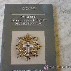 Militaria: CATALOGO DE MEDALLAS NAVALES. Lote 18265929