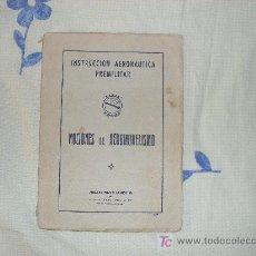 Militaria: INSTRUCCION AERONAUTICA PREMILITAR 1957. Lote 25992281
