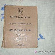 Militaria: LIBRO DE ESCUELA NAVAL MILITAR 1940. Lote 25834209