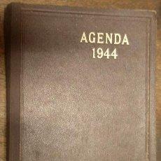 Militaria: AGENDA DE 1944, EN ALEMÁN, CON ANOTACIONES A LÁPIZ. Lote 14025507