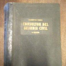 Militaria: CONSULTOR DEL GUARDIA CIVIL, 1930, 1546 PÁG.. Lote 14033590