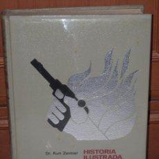 Militaria: HISTORIA ILUSTRADA DE LA RESISTENCIA EN EUROPA (1933-1945) POR KURT ZENTNER DE BRUGUERA EN 1975. Lote 20451386